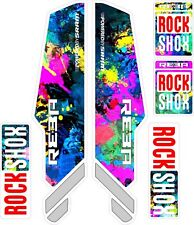 ROCK SHOX  FORK Stickers Decals Mountain Bike Down Hill MTB #b040