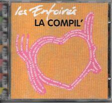 LA COMPILATION DES ENFOIRES 1996 - HALLYDAY -SARDOU etc.. (CD)