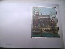 8 schöne große Grußkarten ALTER MEISTER - DIN A 5   mit Kuverts - neu