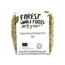 Organic Whole Green Cardamom Pods (Free UK Delivery) 125g