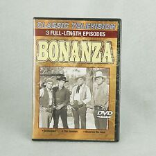 DVD BONANZA 3 full-length episodes Classic TV Sealed Plastic