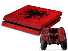 Sony PS4 Playstation 4 Skin Design Aufkleber Schutzfolie Set - Albania Motiv
