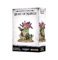 Daemons of Nurgle Beast of Nurgle - Warhammer 40k / AoS - Brand New! 83-15