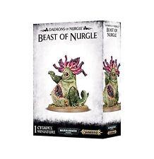 Warhammer 40K - Daemons of Nurgle Beast of Nurgle- Brand New in Box! - 83-15