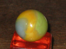 INTERESTING TIGER EYE PATCH VNTAGE VITRO GLASS MARBLE