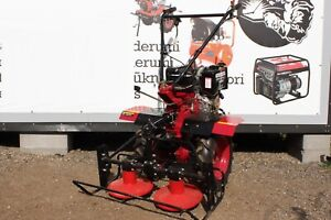 Tiller Cultivator Two wheel tractor 16HP with ploughs + mower