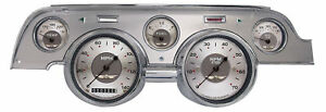 classic instruments ford mustang 67 68 gauge cluster new all american series