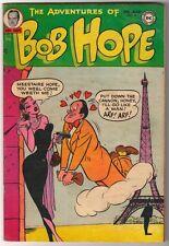 NATIONAL DC Comics VG BOB HOPE ADVENTURES OF  #19 1952 cent copy
