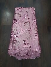 Tulle Sequin Net lace High End African Dress DIY Wedding Fabric - Per Yards
