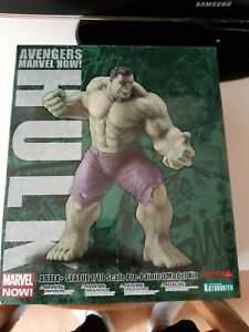 Figurine Hulk Kotobukiya ARTFX comme neuf, rare marvel no dc comics statue