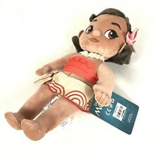"""Disney Store Collection Moana Toddler Baby Plush Doll 12"""" Stuffed Toy NWT"""
