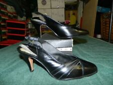 Leather Slingback Med (1 3/4 to 2 3/4 in) Heel Height Heels for Women