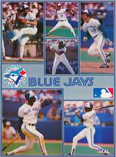 MONSTER POSTER:MLB BASEBALL: TORONTO BLUE JAYS  -6 STARS -#PW-SLMP-TBJ RAP129 B