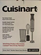 Cuisinart Refurbished Smart Stick Variable Speed Hand BlenderHB-120PCFR