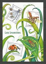 FRANCE 2017...Miniature Sheet  MNH ** Les Insectes