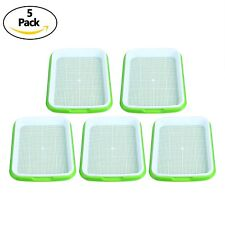 5pc Seed Sprouter Tray Seed Germination Tray BPA Free Nursery Tray for Seedling