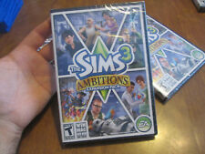 The Sims 3: Ambitions PC MAC BRAND NEW FACTORY SEALED