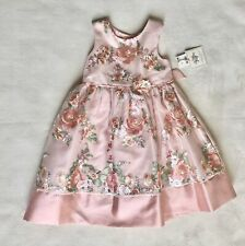 NWT Laura Ashley London  Embroidered Floral Tulle Easter Party Dress  - Size 5