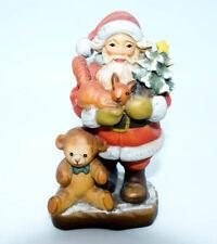 Vintage Anri Wood Carved Sarah Kay Santa Toys Figure