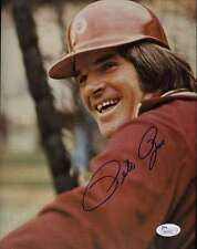 Pete Rose Phillies Jsa Certed Signed 8x10 Photo Authentic Autograph