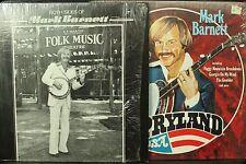 lot 2 lp records Both sides of Mark Barnett banjo classical guitar Opryland USA