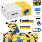 MINI LED Projector Heimkino HD 1080P Home Beamer Projektor Cinema AV SD USB HDMI