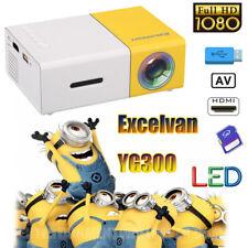 Przenośny Video Projector Heimkino HD 1080P Projektor Home Cinema AV SD USB HDMI