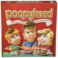 Poopy Head - Fun Kids Board Game Christmas Present New