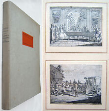Daniel Chodowiecki: ZEICHNUNGEN ZUM ELEMENTARWERK v. BERNHARD BASEDOW 1922