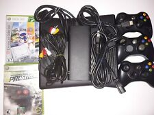 Microsoft Xbox 360 S - With Games, Controllers, All Cords - Model 1439