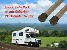 2 x ANODES for Suburban RV Hot Water Service NPT Plug
