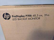 "HP ProDisplay P19A 19"" 1280x1024 5 ms LED-Backlit LCD Monitor"