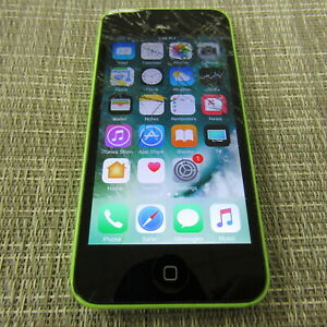 APPLE IPHONE 5C, 16GB (CRICKET) CLEAN ESN, WORKS, PLEASE READ!! 32853