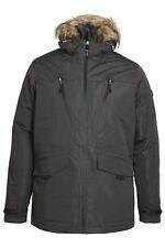 Mens Parka Jacket FORAY Tempest Grey parka jacket