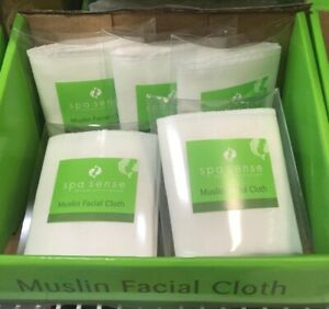Muslin Face Cloth Soft Skin Care Massage & Invigorates 100% Cotton Facial Cloth
