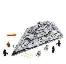 1457pcs First Order Star Destroyer Model Building Blocks Bausteine 75190 DE