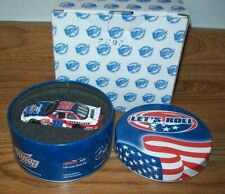 BOBBY LABONTE #18 LETS ROLL 2002 1/64 ACTION DIECAST CAR & TIN 4464 MADE