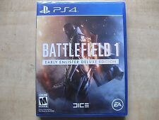 Battlefield 1: Early Enlister Deluxe Edition (Sony PlayStation 4, 2016)