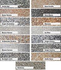 Steinteppich SET Marmorkies Innen Außen Versiegelung Bindemittel Bad Treppe 25kg