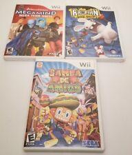 3 Wii Games (Megamind, Rayman, Samba De Amigo)