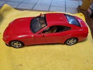 1/18 Diecast Hotwheels Ferrari 612 Scaglietti red 2003 Mattel