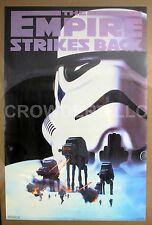 """Star Wars Empire Strikes Back Poster Troopers #1241 23x35"""" 1995 Western Graphics"""