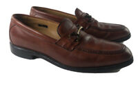Allen Edmonds Harwood Horsebit Loafers Brown Dress Shoes Mens 11