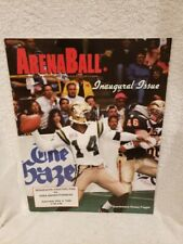 EXTREMELY RARE 1996 Minnesota Fighting Pike Arena Football 1st Game Program!!