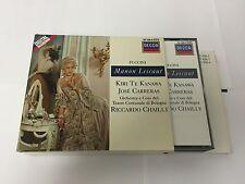 Manon Lescaut 2 CD 1988 by Giacomo Puccini Riccardo Chailly 028942142626