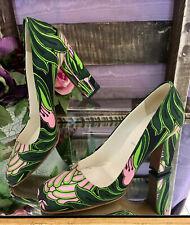 Prada Green & Pink Pumps - Size 36 (US6)