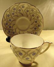 "Vintage Roslyn Fine Bone China ""Cymbeline"" Pattern Tea Cup & Saucer"