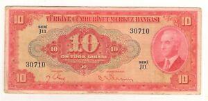 TURKEY 147 -- VF -- 1947