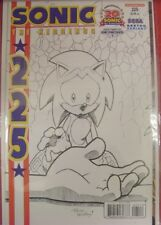 SONIC HEDGEHOG 225 ARCHIE SKETCH VARIANT SEGA GENESIS 20TH ANNIVERSARY 2011 NM