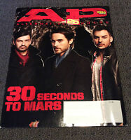 ALTERNATIVE PRESS Magazine 30 Seconds To Mars Cover March 2010 #260 NFG Rare